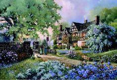 """""""Old Coach Inn"""" by D R Laird"""