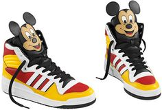 79dcf5c761 Jeremy Scott and Adidas make a mouse trap for your feet with the Mickey Hi