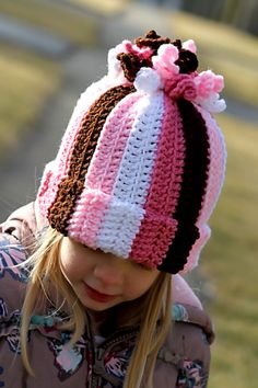 Girl Curly Corkscrew Hat (All sizes available)