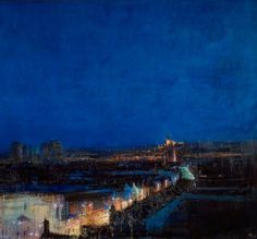 Andrew Gifford - Walsall, Looking towards St Matthew's Church (1999)