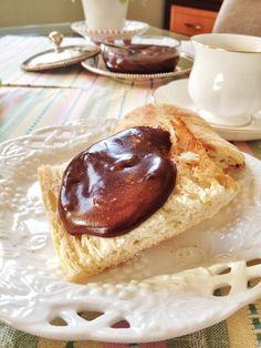 Pasta caseira de avelãs (nutella)