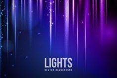 Creative light effect background vector