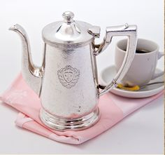 Vintage Waldorf Astoria Coffee Pot / Paris Hotel Boutique