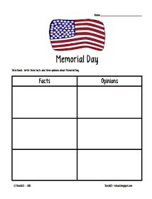 Memorial Day, fact and opinions