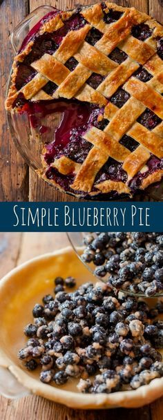 Want a blueberry pie