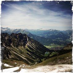 Vedere de sus... Oberstdorf,     Alps, Germany.