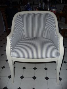 After upholstered - tub chair (set of 4)