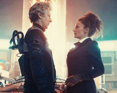 'Are you alright?' Missy asks the Doctor on the Tardis. Empress of Mars ep. ending.