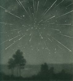 // The radiant meteor storm of 9 October 1933, Larousse Encyclopedia of Astronomy