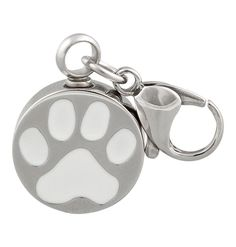Perfect Memorials Round Paw Print Clasp Stainless Steel Cremation Jewelry >>> Find out more about the great product at the image link. (This is an affiliate link and I receive a commission for the sales)