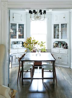 A Chicago Familys Victorian Cottage Dining RoomsCottage RoomsKitchen
