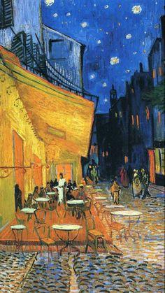 Van gogh - Cafe terrace at night Art Print by Art Classics & Masterpieces - X-Small Van Gogh Pinturas, Vincent Van Gogh, Van Gogh Art, Art Van, Van Gogh Wallpaper, Giorgio Vasari, Most Famous Paintings, Van Gogh Paintings, Canvas Poster