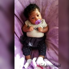 Kyi'lee Nichole Edwards Newborn Black Babies, Cute Black Babies, Black Baby Girls, Beautiful Black Babies, Cute Baby Girl, Baby Girl Newborn, Cute Babies, Baby Kids, Biracial Babies