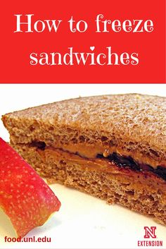 Types of sandwiches that freeze well -- save time and save money by freezing sandwiches for future meals.