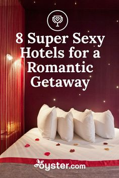 Sex and hotels have always been the perfect bedfellows (wink-wink). For some, a simple night away from children/work/etc is enough of an aphrodisiac. For others, the titillating packages, fantasy rooms, and erotic offerings of various hotels provide the real incentives for a night spent out of town. Here's eight hotels to help you get your sexy on.