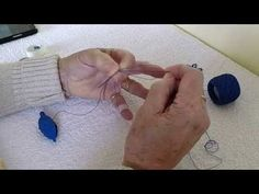 """My method of tatting a cluny using a tatting shuttle. The soundtrack is """"Life"""" by Howard K Davies (my son)"""