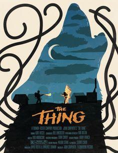 """The Thing"" original art poster"