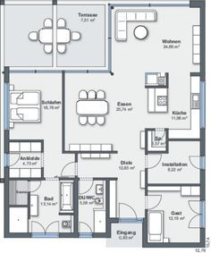 Weberhaus bungalow floor plan
