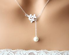 Hey, I found this really awesome Etsy listing at https://www.etsy.com/listing/181674271/romantic-cherry-blossom-with-pearl