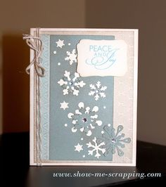 Show Me Scrapping: Festive Friday Blog Hop: August Edition #Frosted #Artbooking