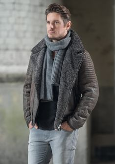 CHRIST Lammfelljacke Justus #lammfell #jacke #herrenmode #winterjacke