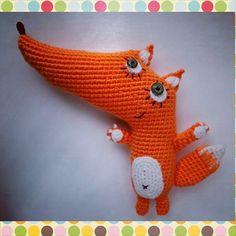 Авантюрка на ami.guru от Fiessta! #amigurumi #weamiguru #cute #crochet #knitting #handmade #fox #амигуруми #ручнаяработа #лиса #вязание #игрушки