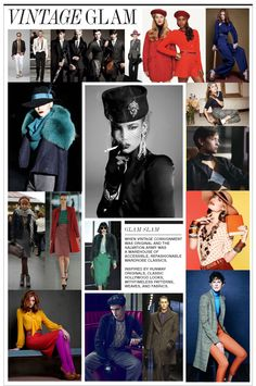EARLY 80s TRENDS IN FASHION: VINTAGE GLAM— When vintage consignment was original and the Salvation Army was a warehouse of accessible, refashionable wardrobe classics. Inspired by runway originals, classic Hollywood looks, with timeless patterns, weaves, and fabrics.