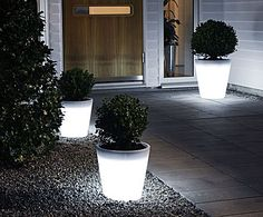 Outdoor LED-planter Assisi