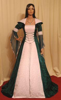 mittelalterlicher Tracht Handfasting Kleid von camelotcostumes