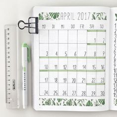 15 Monthly Bullet Journal Spread Ideas That Are Crazy Creative - - Get inspiration for your bullet journal. Monthly bullet journal spread ideas that you need to see! Get inspired, creative and productive this month. Bullet Journal Monthly Log, Bullet Journal Notebook, Bullet Journal Spread, Bullet Journal Inspo, Bullet Journal Ideas Pages, Journal Pages, Bullet Journal Washi Tape, Journal Art, Bullet Journal 2019 Calendar