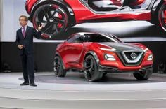 Nissan Gripz Concept is an All-Wheel-Drive Hybrid with Drift Mode. The future of sporty Nissans?