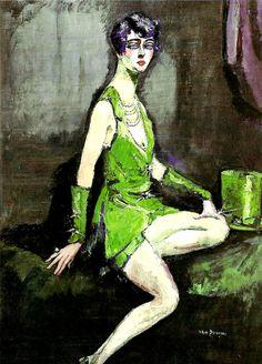 Kees van Dongen. L'écuyère 1920 See also - MA DIVINE COMEDIE (DantéBéa)