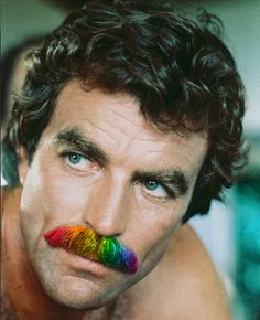 THE POGONOLOGIST: The Return of Tom Selleck's Moustache
