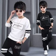 Sport Clothes Children Spring 2-pc Clothes Set Kids – Trending Accessories Dope Outfits, Sport Outfits, Kids Outfits, Cocktail Wear, Baby Dress Patterns, Dope Clothes, Baby Elephant, Outfit Sets, Cute Kids
