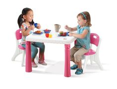 Step2 LifeStyle Kitchen Table and Chairs Set, Pink Step2,http://www.amazon.com/dp/B005KBXB0K/ref=cm_sw_r_pi_dp_bGyKsb1T2BF08HYB