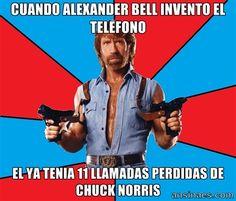 11 llamadas perdidas de Chuck Norris