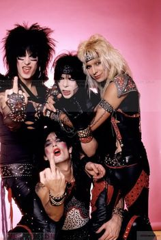 Shout at the devil - legendary rock & roll band - Motley Crue