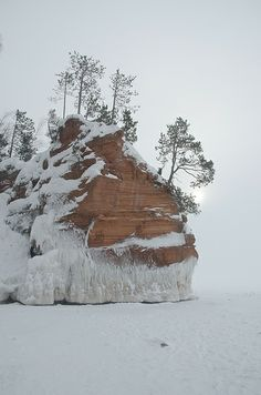 Ice Caves, Lake Superior, WI