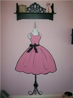 dress wall art