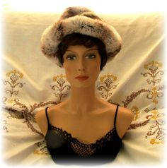 You'll be ready for winter storms with this fabulous Christian Dior for Saks Fifth Avenue Fur Hat