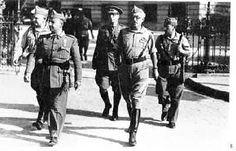 Franco y Yagüe en Sevilla, julio de 1936.