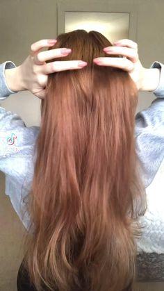 Hair Tutorials For Medium Hair, Cute Hairstyles For Medium Hair, Medium Hair Styles, Girl Hairstyles, Haircuts Straight Hair, Hairstyle Tutorials, Hairstyles Videos, Hairdo For Long Hair, Long Hair Video