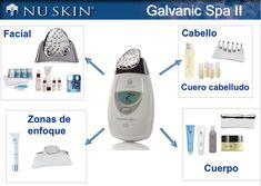 Resultado de imagen para nuskin latinoamerica Beauty Box, Beauty Skin, Health And Beauty, Beauty Makeup, Hair Beauty, Galvanic Facial, Galvanic Body Spa, Nu Skin, Skin Photo