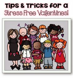 Tips and Tricks for a stress-free Valentine's Day party in your classroom!  #SimplyKinder