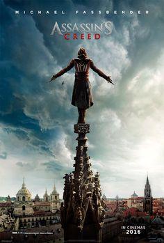 'Assassin's Creed': Michael Fassbender, a punto de dar un salto de fe en el último póster - Noticias de cine - SensaCine.com