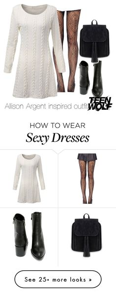 """Allison Argent inspired outfit/ TW"" by tvdsarahmichele on Polyvore featuring Very Volatile"