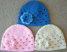 Shell Stitch Kids Cap free crochet pattern
