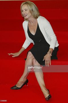 Actress Jessica Lange attends the photocall for the film 'Normal' at the 29th American Film Festival of Deauville on September 11, 2003 in Deauville, France.
