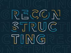 Reconstructing by Greg Perkins