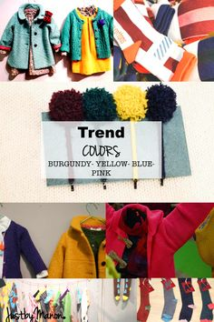 TREND COLORS AW 2014-2015 kidsfashion winter kidswear